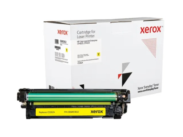 Xerox Everyday Brand HP CE262A (648A) Yellow Toner Cartridge