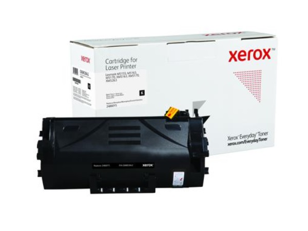 Xerox Everyday Brand Lexmark 24B6015 Black Extra High Yield Toner Cartridge